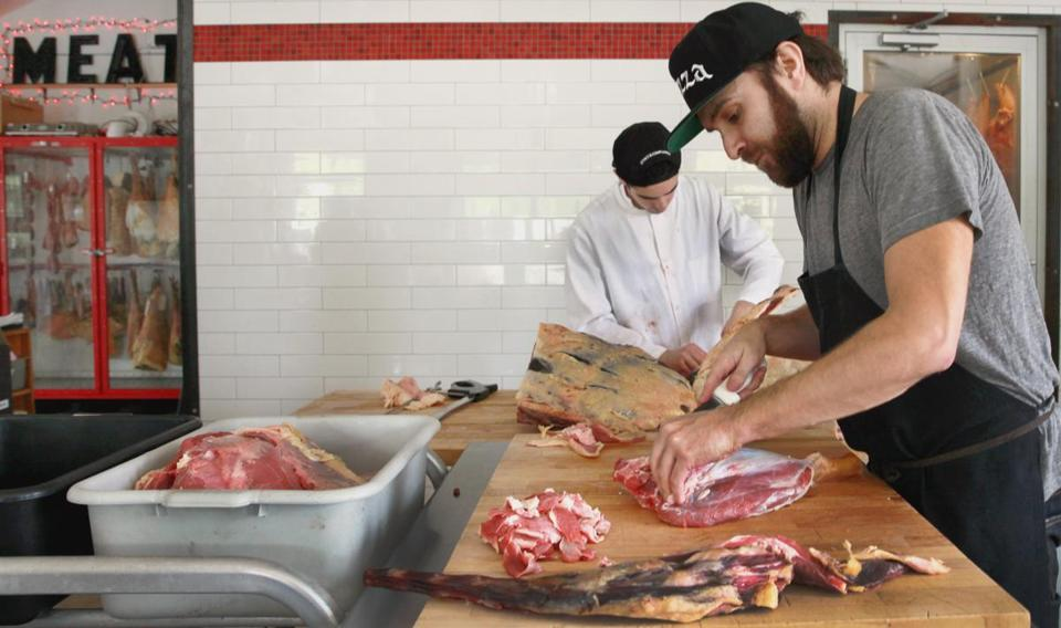 The nonprofit Berkshire Farm & Table has established three taste trails in the region, including one featuring charcuteries such as The Meat Market in Great Barrington.